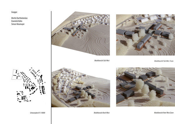 Projektbroschüre Städtebau Bernried