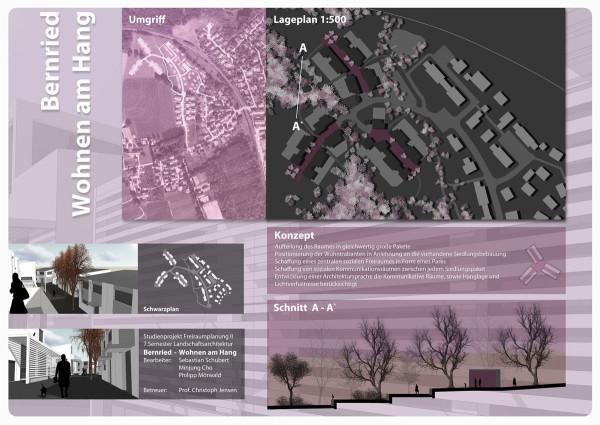 Studienprojekt Städtebau Bernried 02