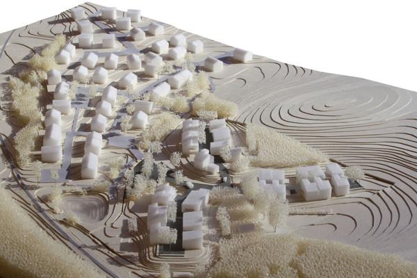 Studienprojekt Städtebau Bernried Modelfoto 02, Schubert-Gestaltung.de