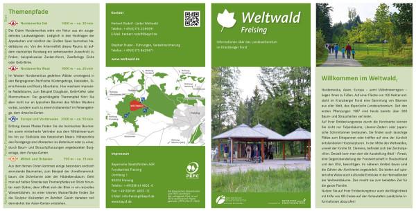 Flyer Weltwald Freising