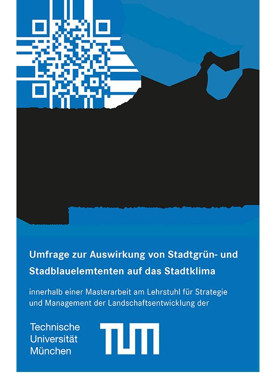 Flyer für Umfrage mit Link angepasst
